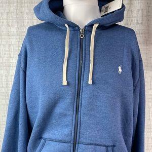NWT Polo Ralph Lauren Zip Up Hooded Sweatshirt